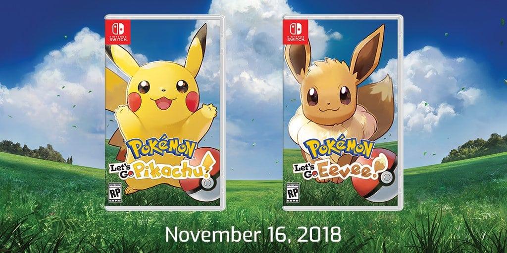 Dos nuevos juegos de rol de Pokémon llegarán al Nintendo Switch