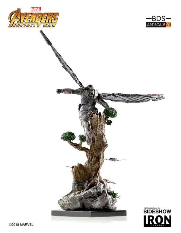 Marvel-Avengers-Infinity-War-Falcon-Statue-3-600x774