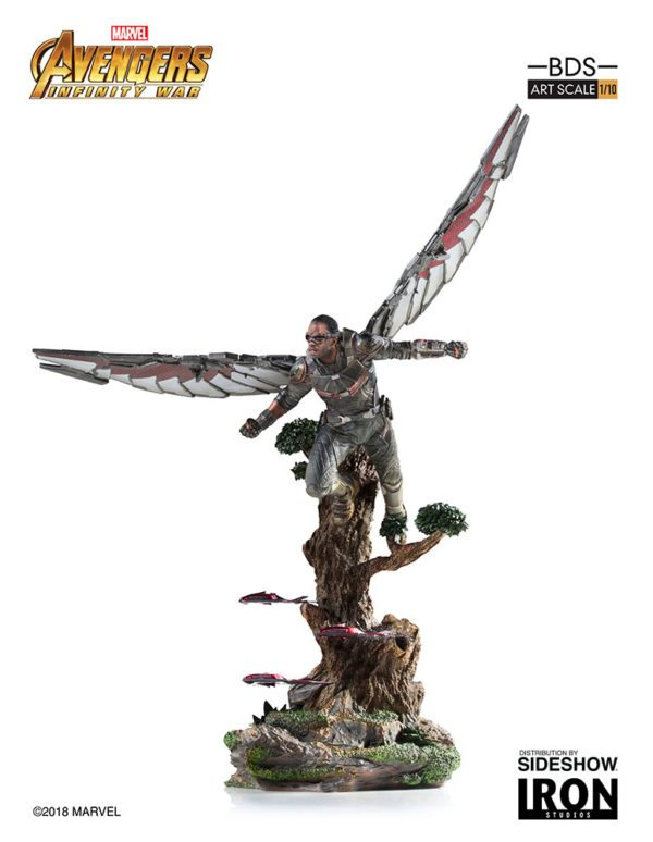 Marvel-Avengers-Infinity-War-Falcon-Statue-4-600x774