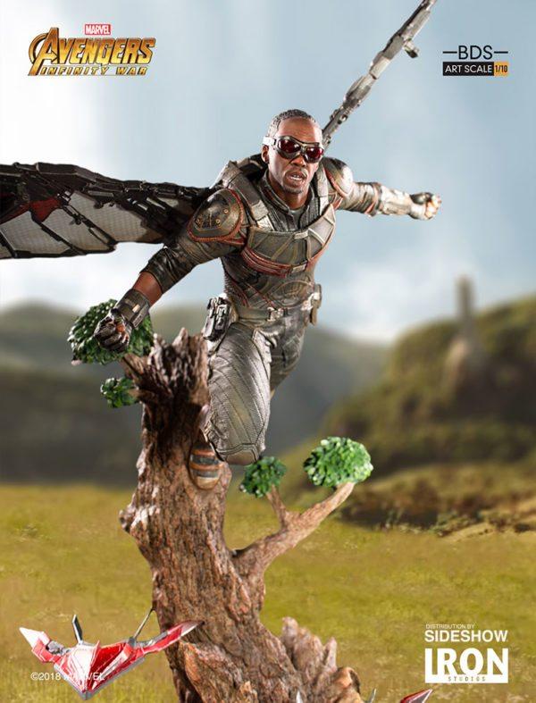 Marvel-Avengers-Infinity-War-Falcon-Statue-6-600x787