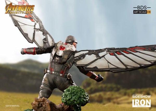 Marvel-Avengers-Infinity-War-Falcon-Statue-7-600x427