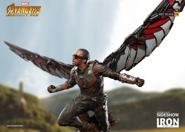 Marvel-Avengers-Infinity-War-Falcon-Statue-8-600x427