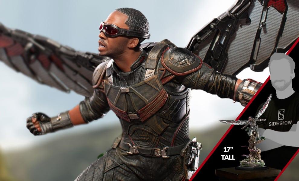 Los Vengadores de Iron Studios: Infinity War Falcon Battle Diorama Statue revelada