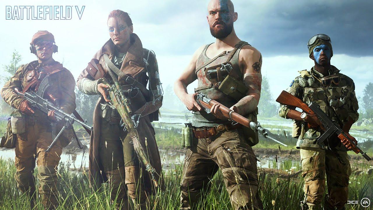 EA anuncia Battlefield V con un trailer revelador lleno de acción