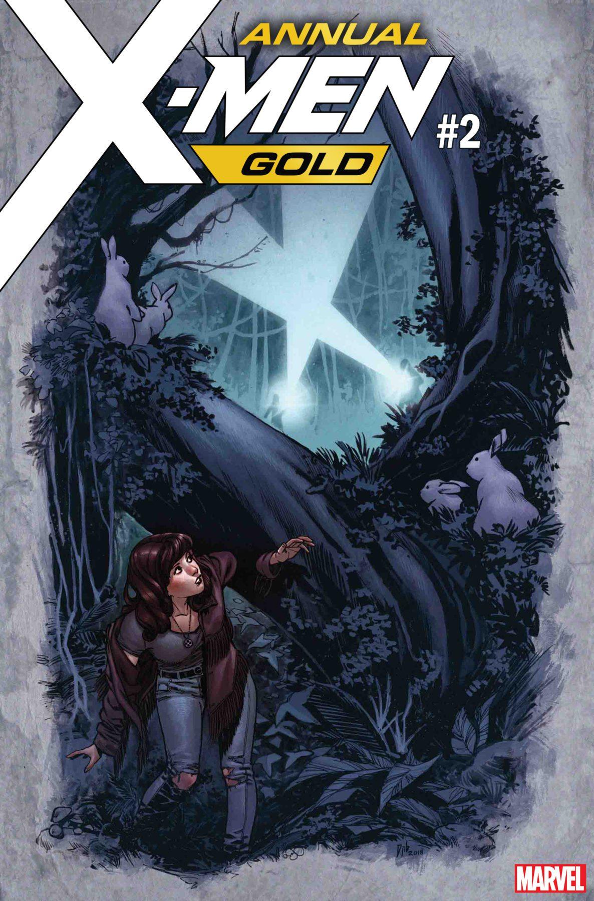 X-Men Gold Annual # 2 para explorar el primer romance de Kitty Pryde