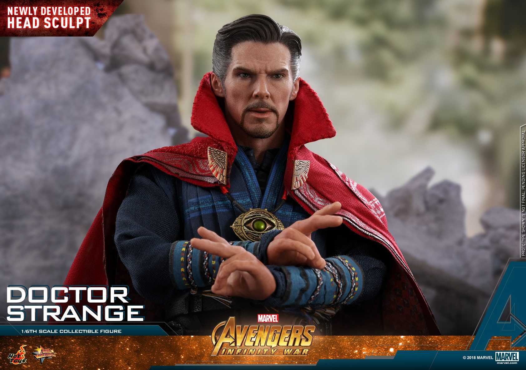 Doctor Strange obtiene una figura de Avengers: Infinity War Movie Masterpiece de Hot Toys