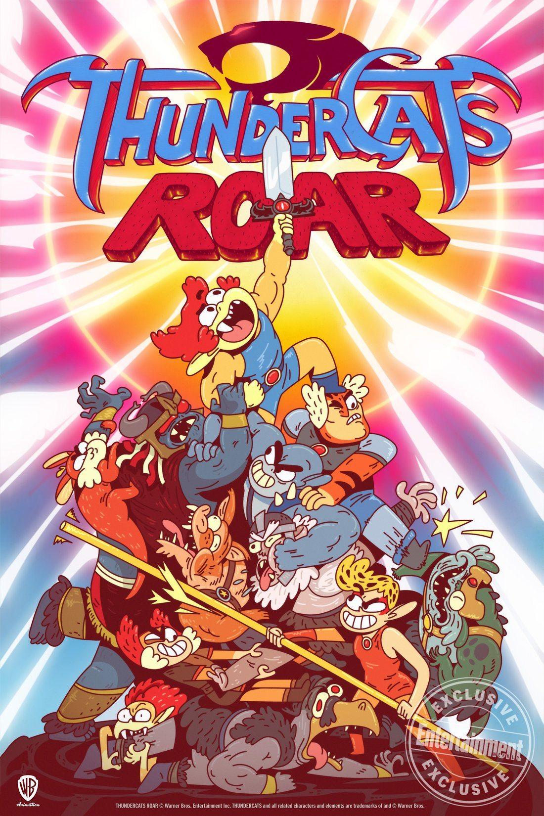 ThunderCats regresa con la nueva serie de comedia animada ThunderCats Roar