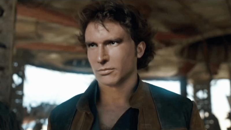 Vea a Harrison Ford insertado digitalmente en el tráiler de Solo: A Star Wars Story