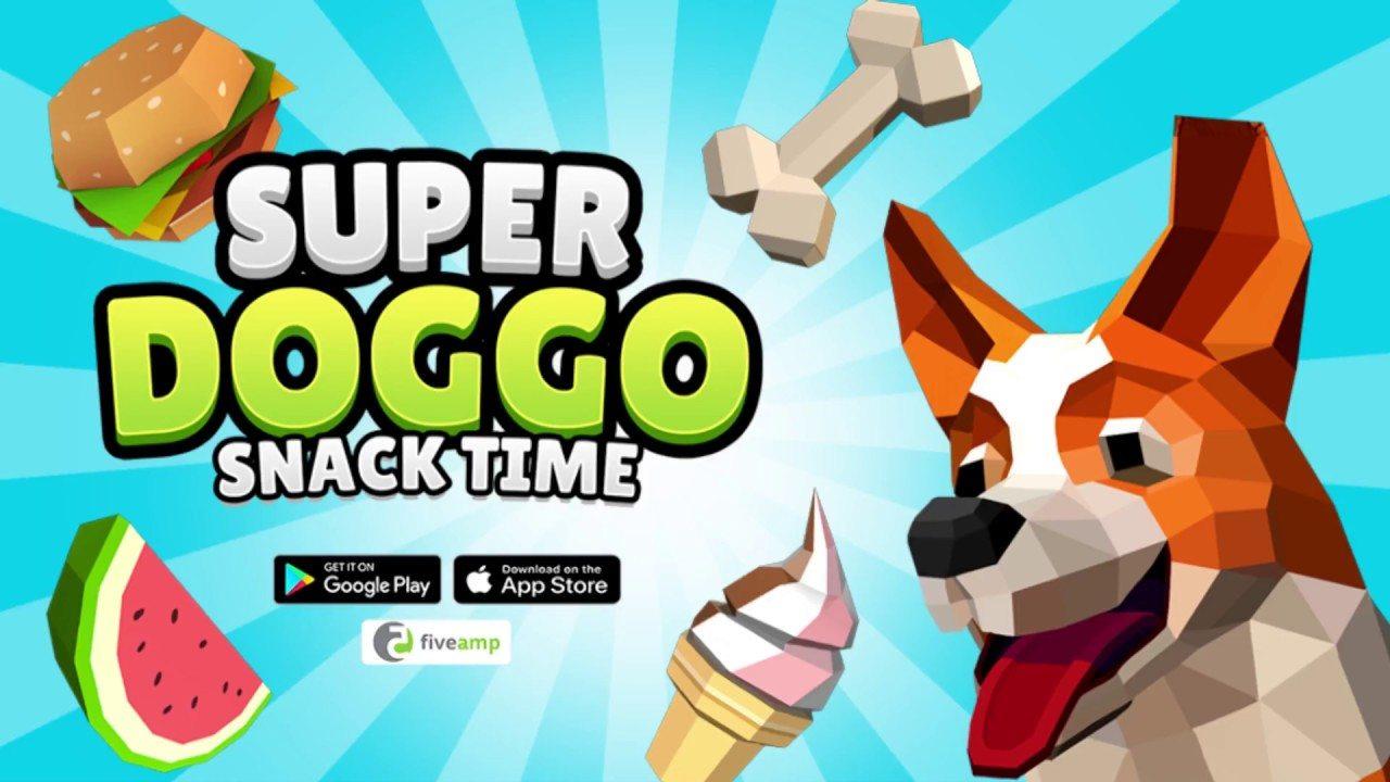 Din-dins time con Super Doggo Snack Time en Android e iOS