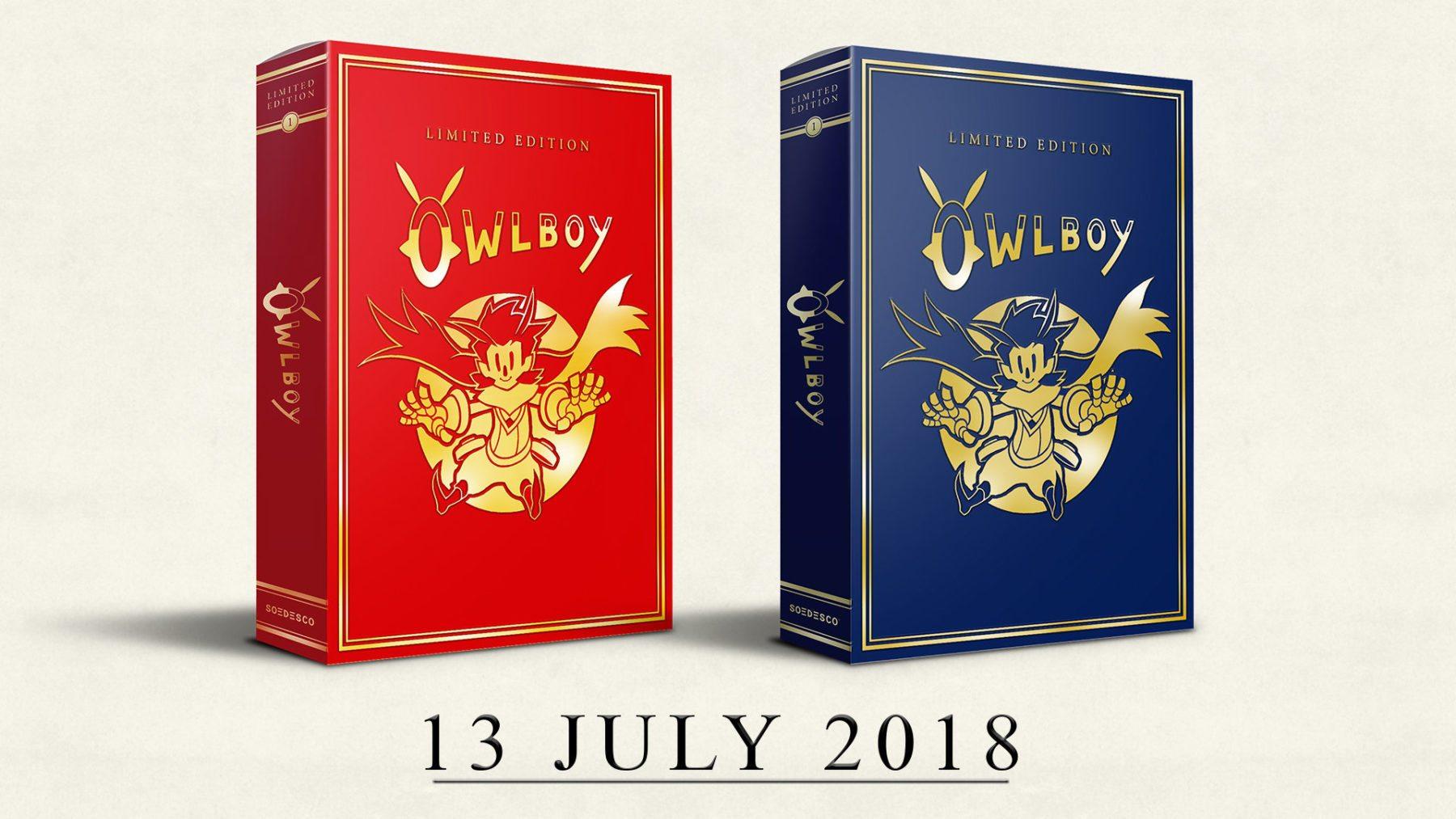 Owlboy: edición limitada revolotea en julio