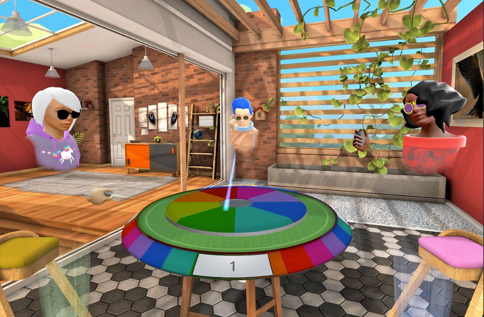 Los juegos favoritos de la familia Hasbro llegarán a Oculus Rooms