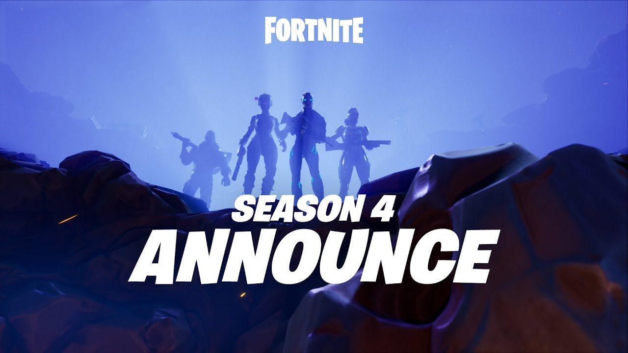 La temporada 4 de Fortnite comienza con una explosión