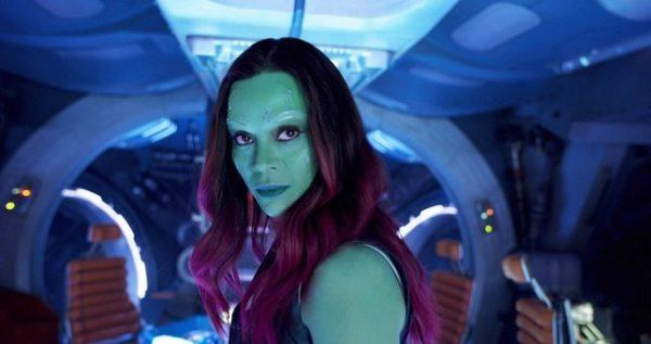Zoe Saldana ha compartido su reacción al papel de Gamora en Avengers: Infinity War
