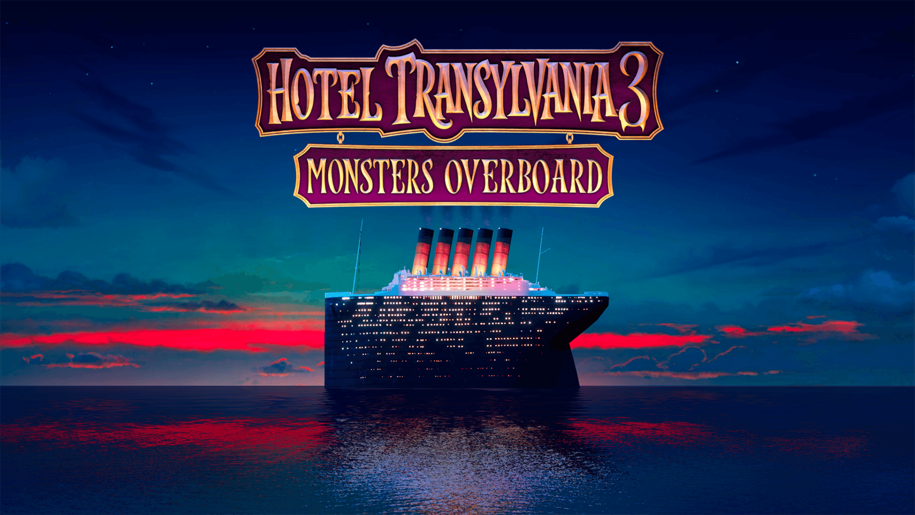 Outright Games anuncia el Hotel Transylvania 3: Monsters Overboard