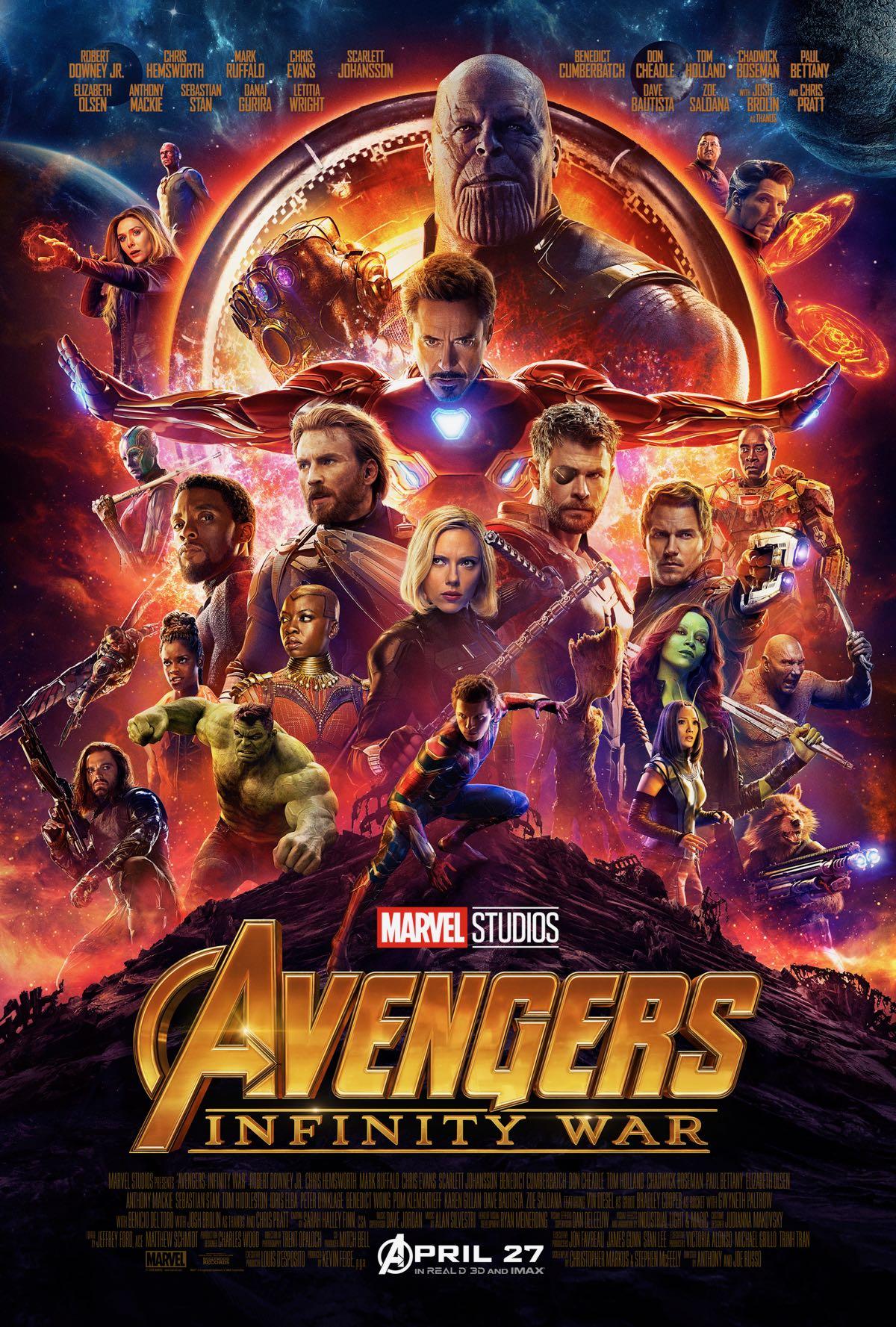 Reseña de la película - Avengers: Infinity War (2018)