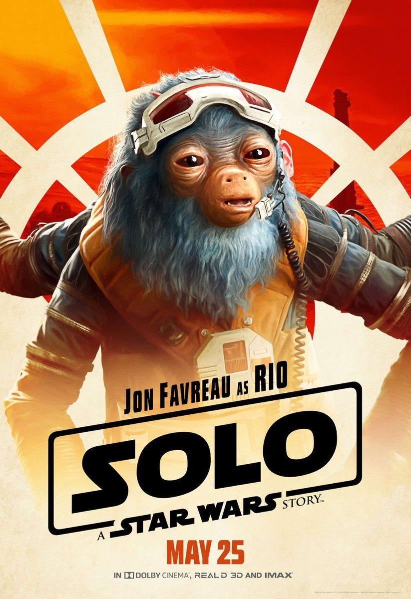 Solo: A Star Wars Story recibe nueve pósters más de personajes
