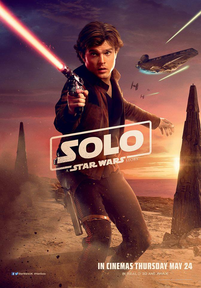 Solo: A Star Wars Story recibe nuevos carteles de personajes cuando Ron Howard anuncia que la postproducción está completa