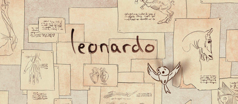 Película Stop-Motion de Leonardo Da Vinci El inventor en desarrollo