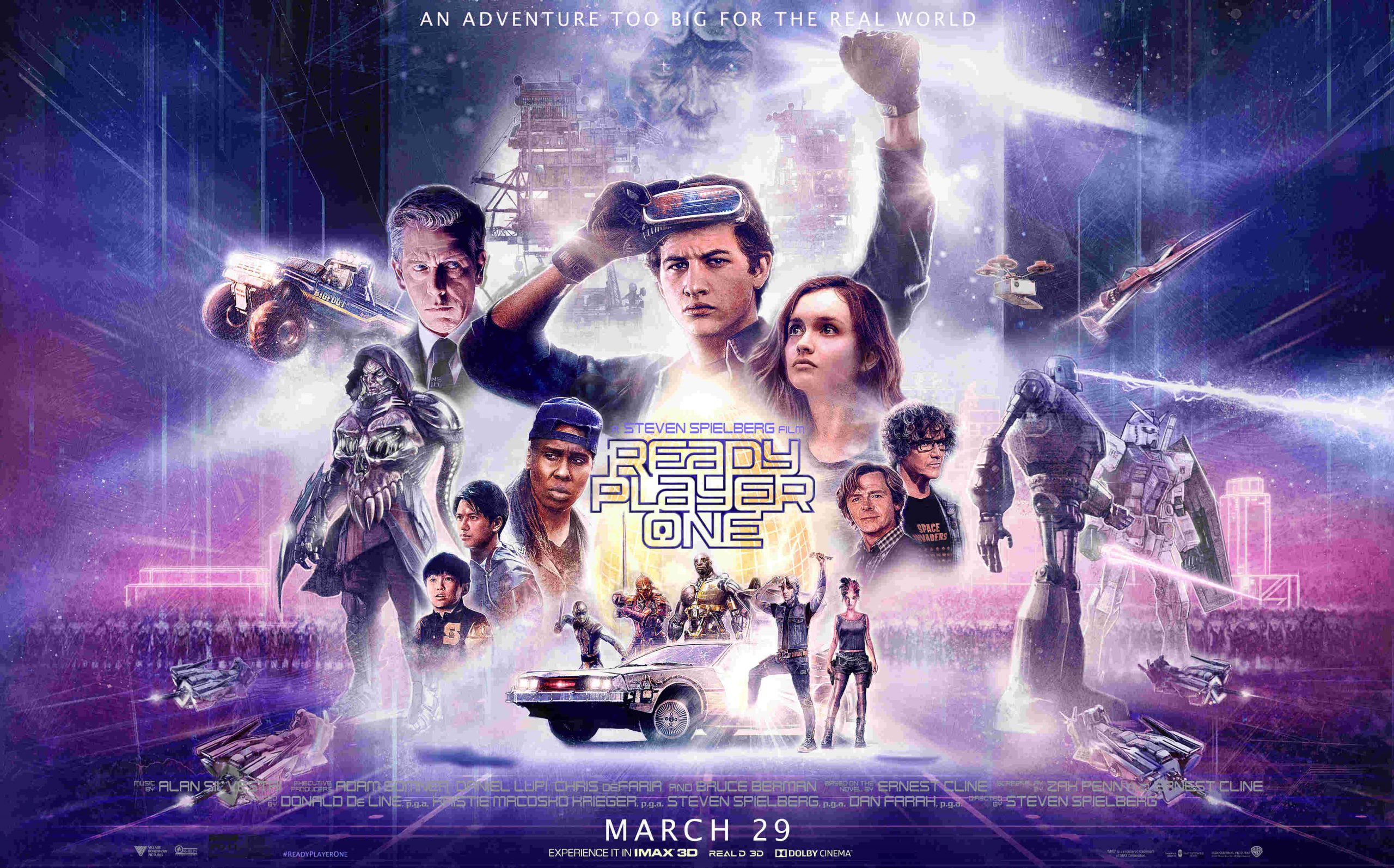 Ready Player One pasa $ 500 millones en la taquilla global