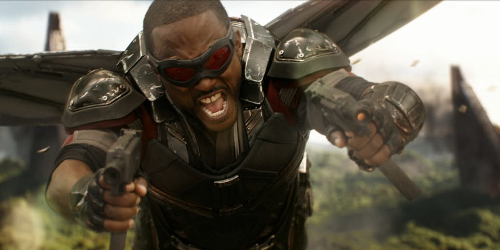 Avengers: Infinity War's Battle of Wakanda corrió durante 25 páginas de guiones, afirma Anthony Mackie