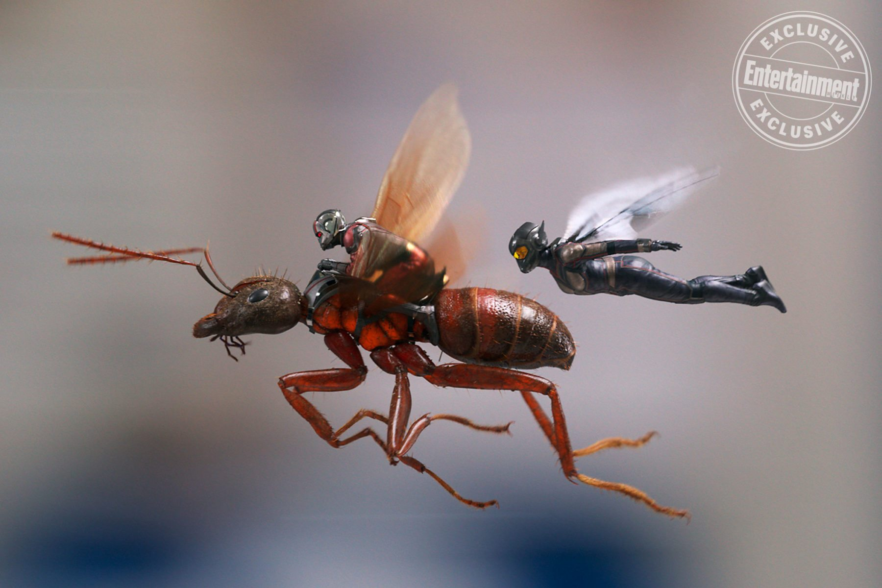 Evangeline Lilly y Peyton Reed hablan sobre Ant-Man and the Wasp de Marvel