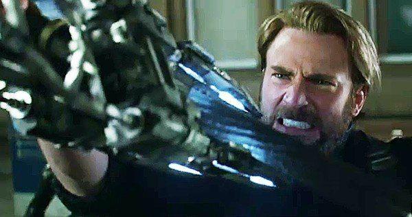 Cap, Falcon y Black Widow luchan contra Black Order en Avengers: Infinity War