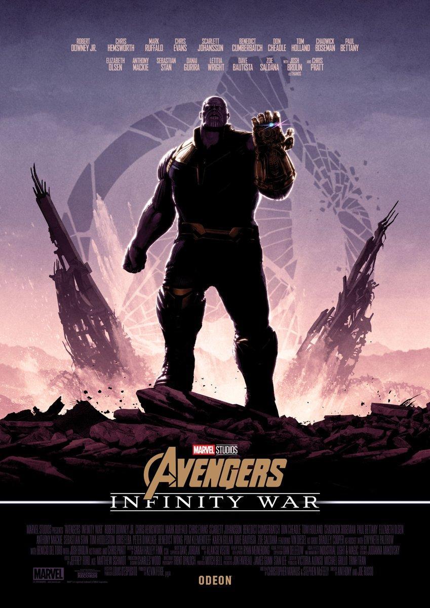 Marvel's Avengers: Infinity War obtiene cinco nuevos pósters conectados