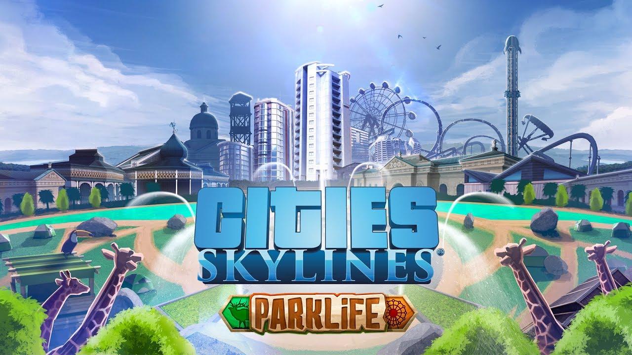 Cities: Skylines - Expansión de Parklife disponible para reservar ahora