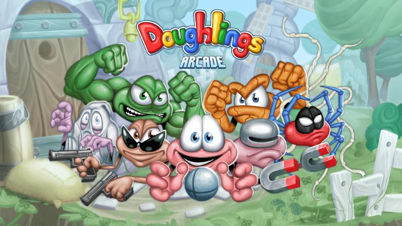 Doughlings rompe ladrillos: Arcade llega a Steam este mayo