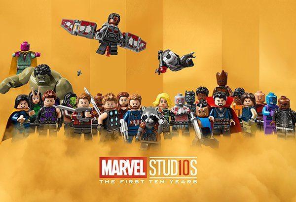 LEGO celebra los primeros diez años del universo cinematográfico de Marvel
