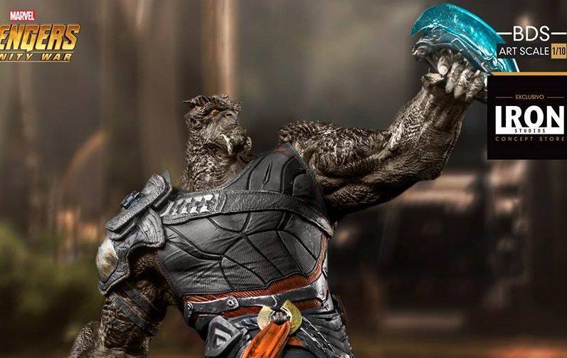 Se revela la estatua de Cull Obsidian de Iron Studios de Avengers: Infinity War