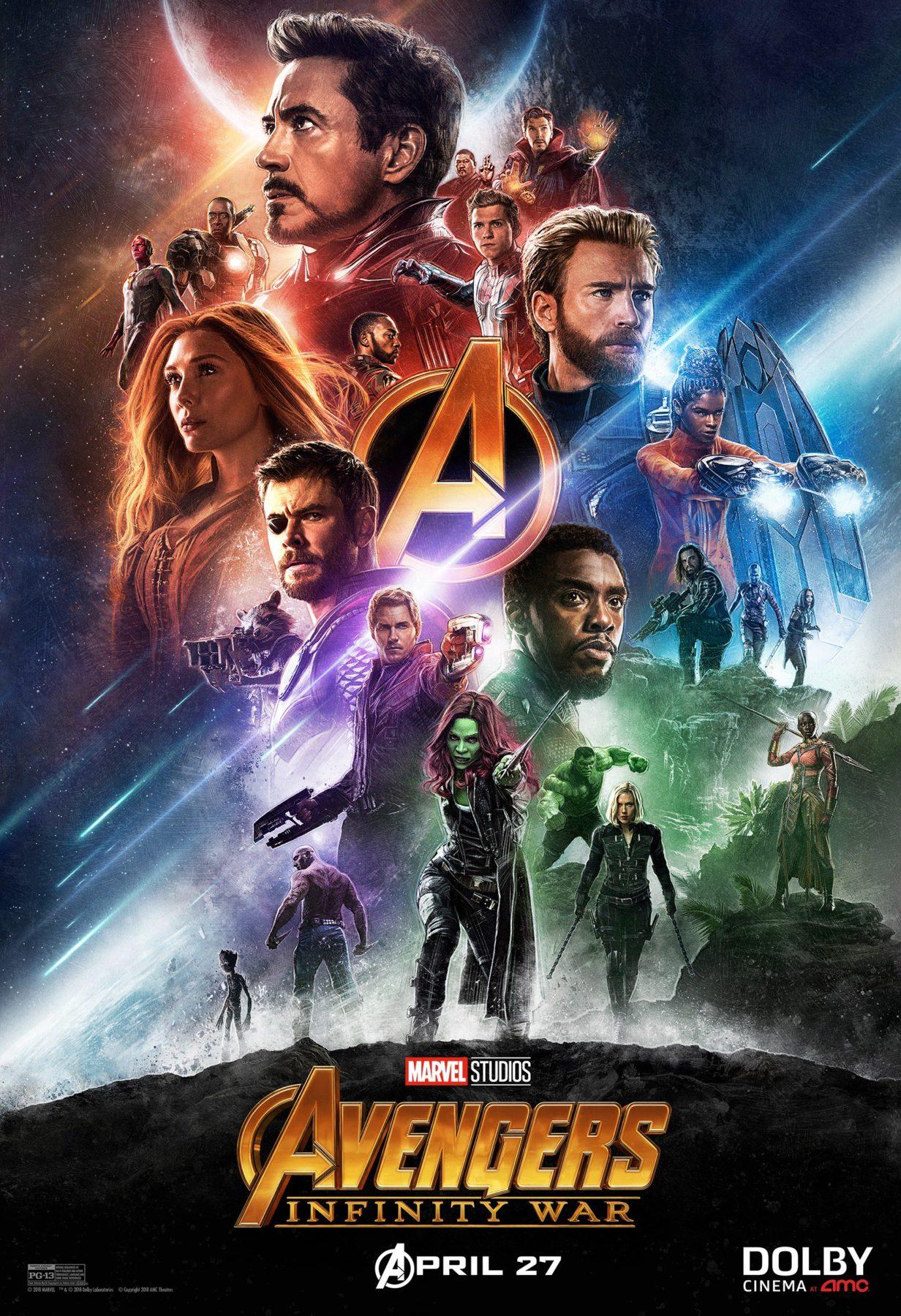 Marvel's Avengers: Infinity War recibe dos nuevos pósters