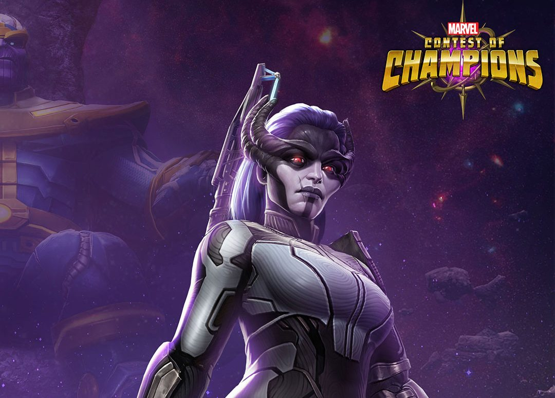 Avengers: Infinity War's Proxima Midnight se une al Marvel Contest of Champions