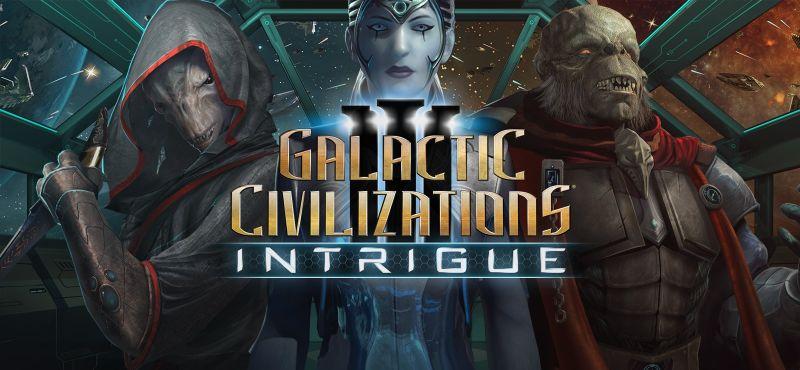 Expansión de intriga ahora disponible para Civilizaciones Galácticas III
