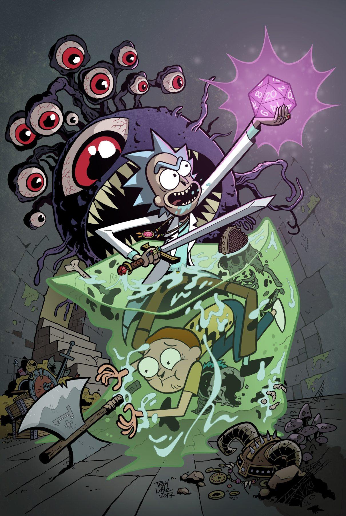 Rick y Morty y Dungeons & Dragons crossover anunciados