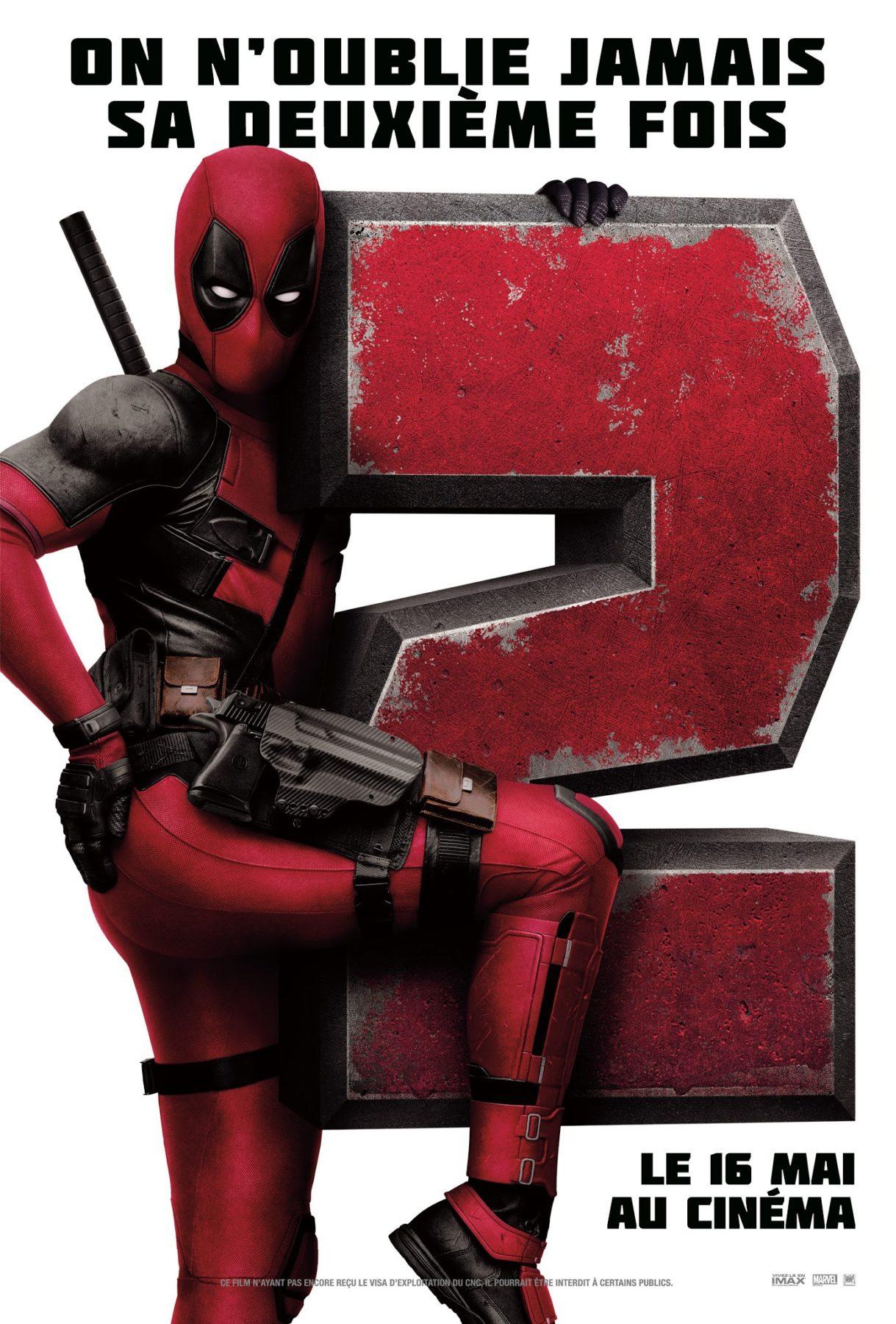 Deadpool 2 recibe otro nuevo póster, se rumorea que el personaje principal fue cortado