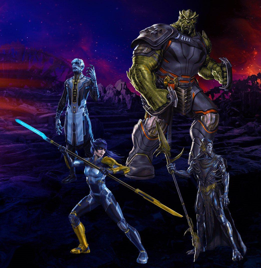 Thanos 'Black Order aparece en el último arte promocional de Avengers: Infinity War