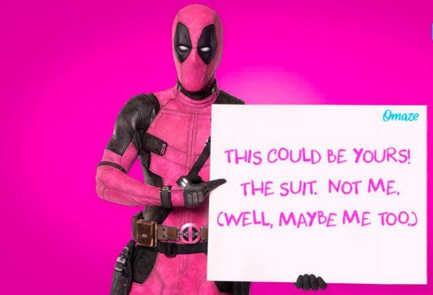 Deadpool le pide que 'F * ck Cancer' en el video de la campaña