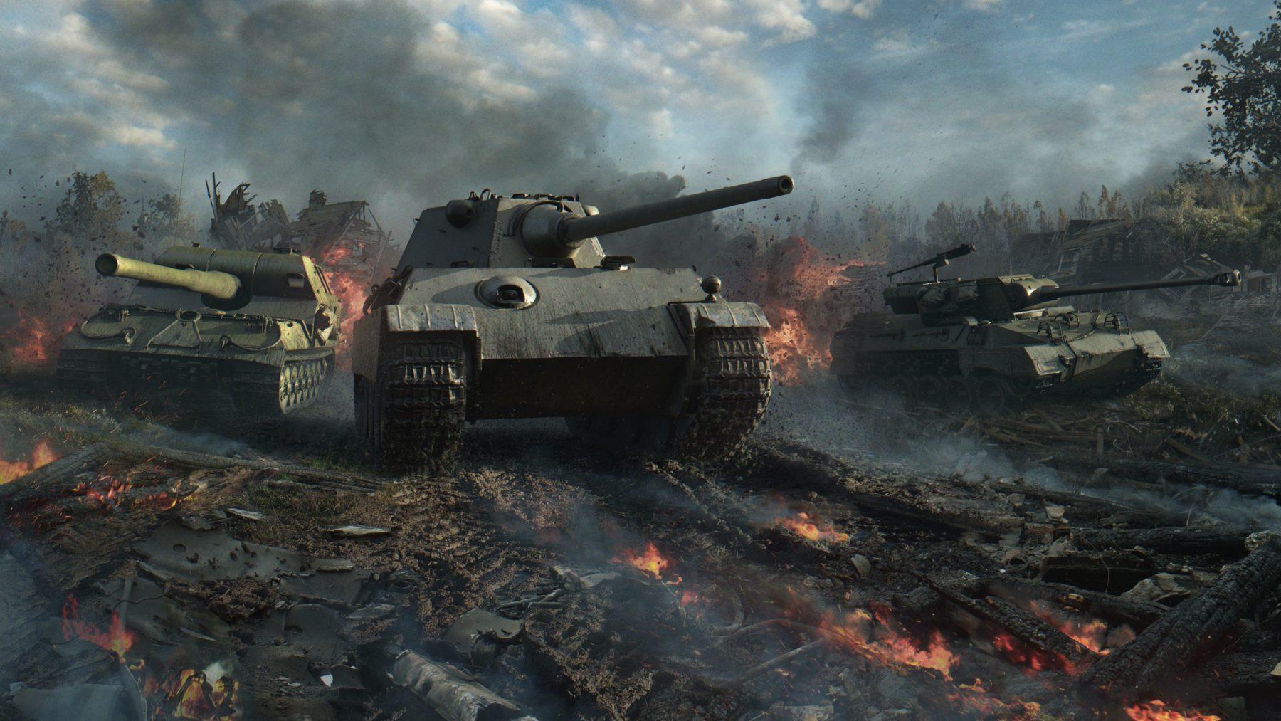 La trilogía de Spoils of War llega como una nueva historia de guerra en World of Tanks
