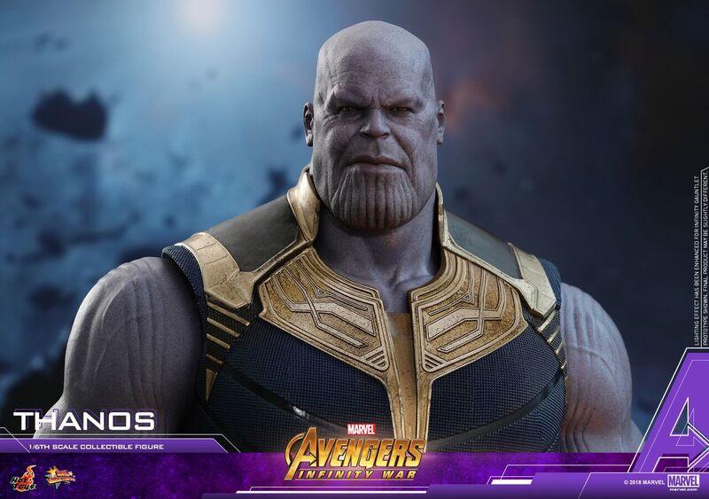 Se revela la figura de Hot Toys 'Avengers: Infinity War Thanos Movie Masterpiece Series