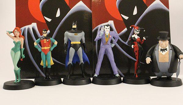 Eaglemoss celebra Batman: la serie animada con una nueva colección de figuras