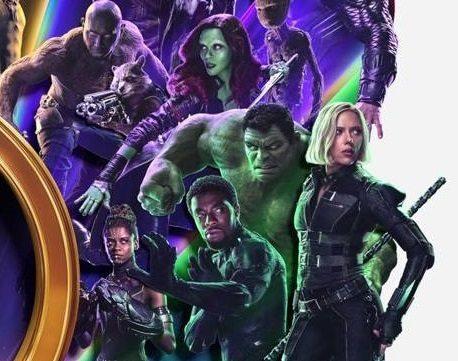 Marvel's Avengers: Infinity War theatre standee reúne a los héroes de MCU