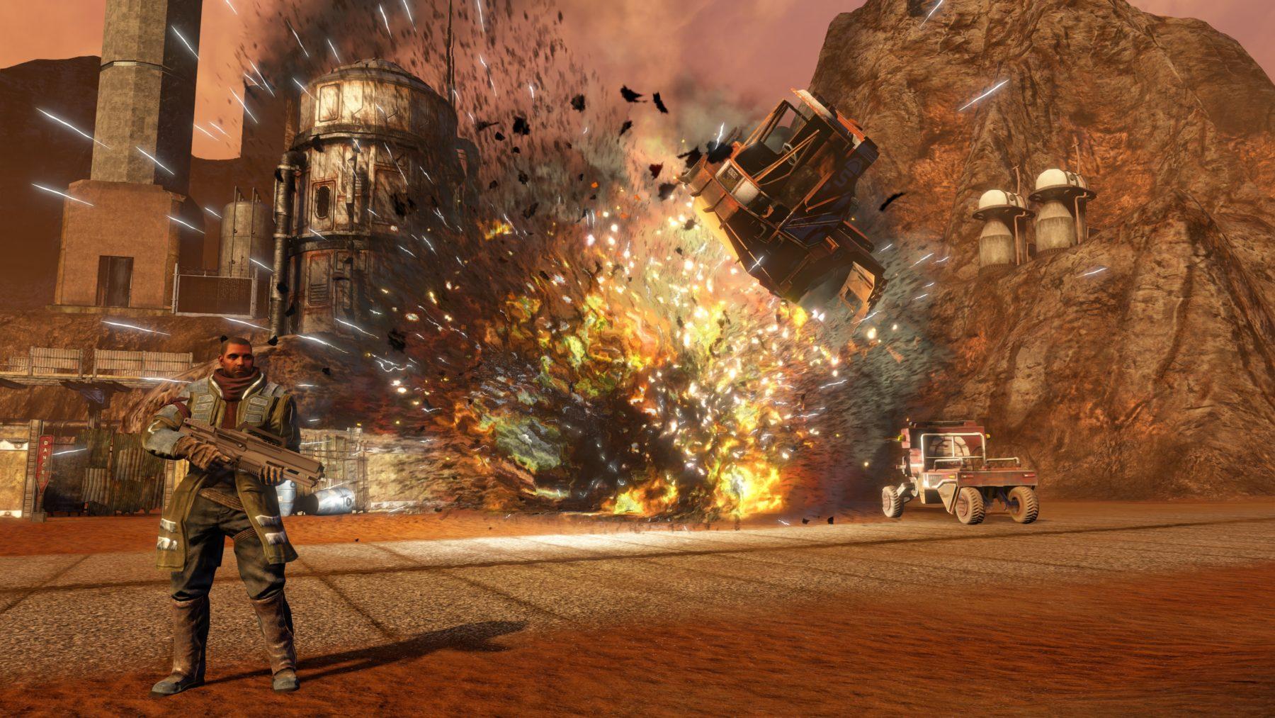 Red Faction Guerrilla regresa con una edición re-Mars-tered