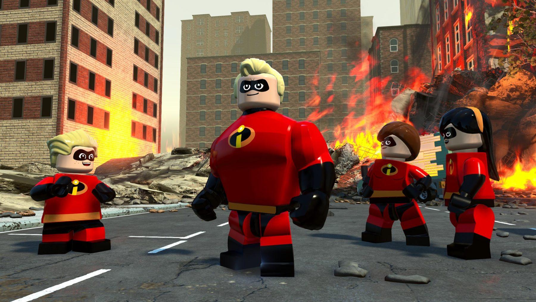 Warner Bros. Interactive Entertainment anuncia que LEGO: The Incredibles llegará este julio