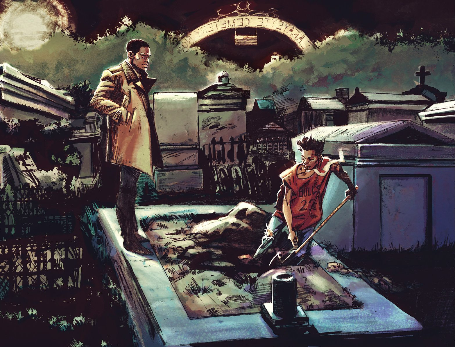 La serie de terror nigromántica de Cullen Bunn, Bone Parish, se lanzará en julio