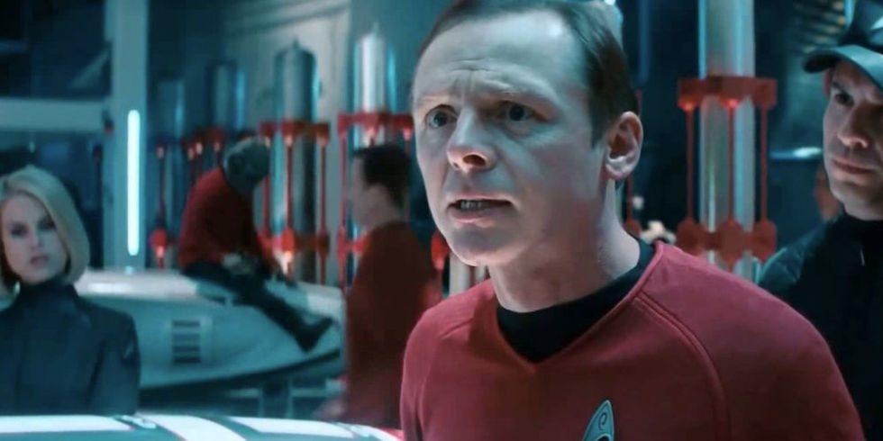 Simon Pegg dice que el guión de Star Trek 4 se terminó antes de que Quentin Tarantino presentara su idea