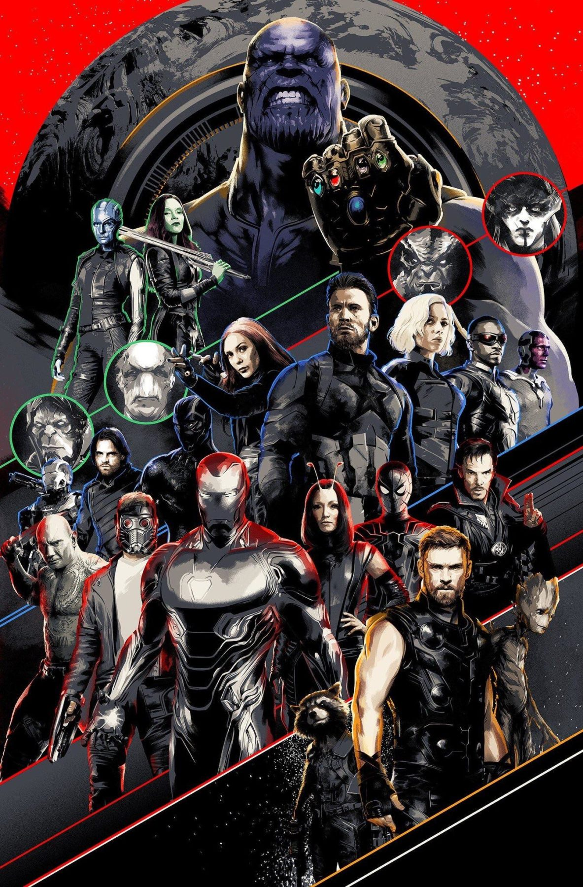 Avengers: Infinity War recibe un nuevo póster y un video de comparación IMAX