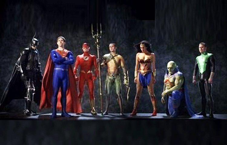 Vea a DJ Cotrona como Superman en la abandonada Justice League Mortal de George Miller, revelado el nuevo arte conceptual del equipo completo