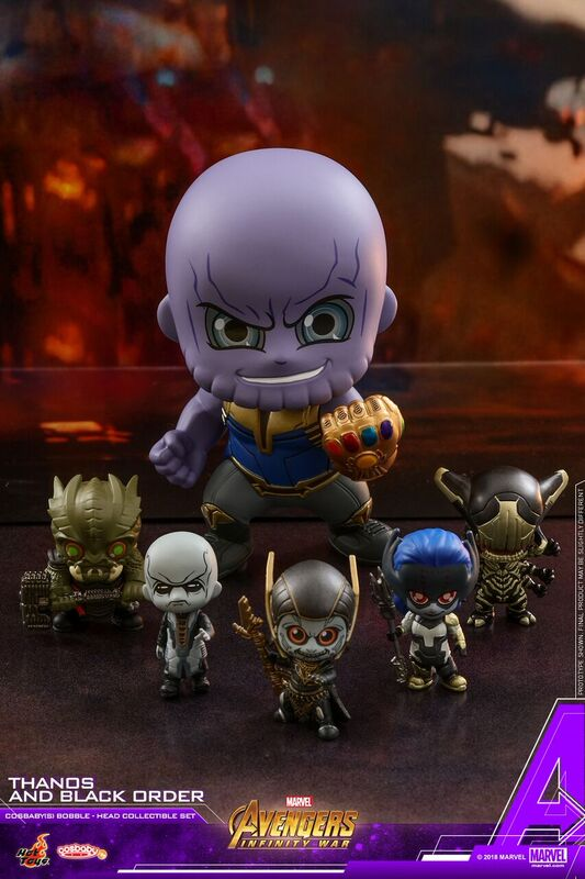 Thanos-and-Black-Order-Infinity-War-Cosbaby-set-1