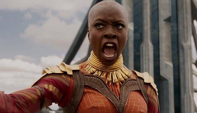 Avengers: Infinity War's Danai Gurira sobre cómo reacciona Okoye ante los héroes más poderosos de la Tierra que llegan a Wakanda